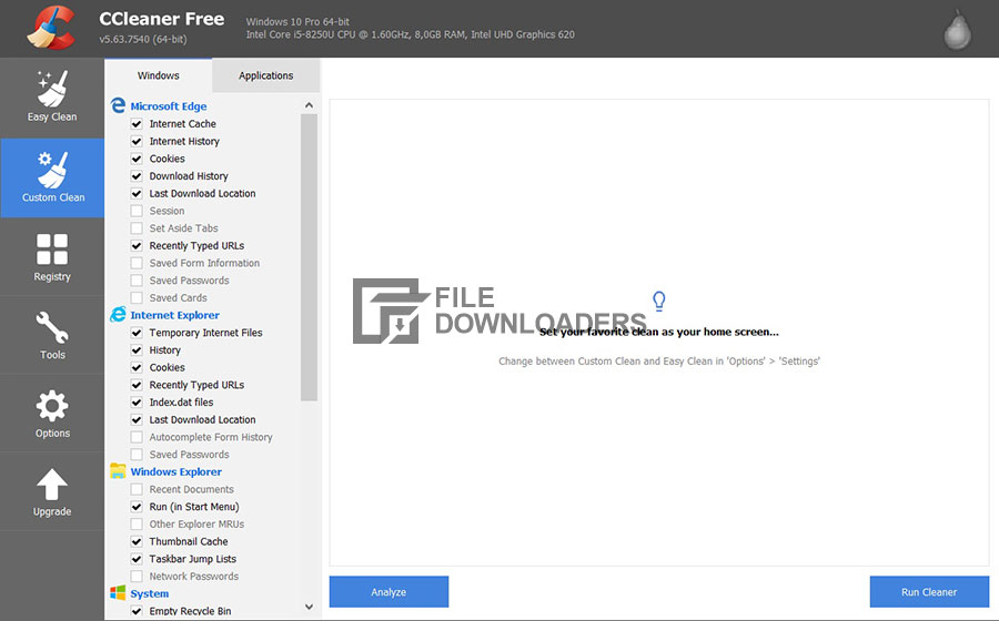 CCleaner For Windows PC Full Download