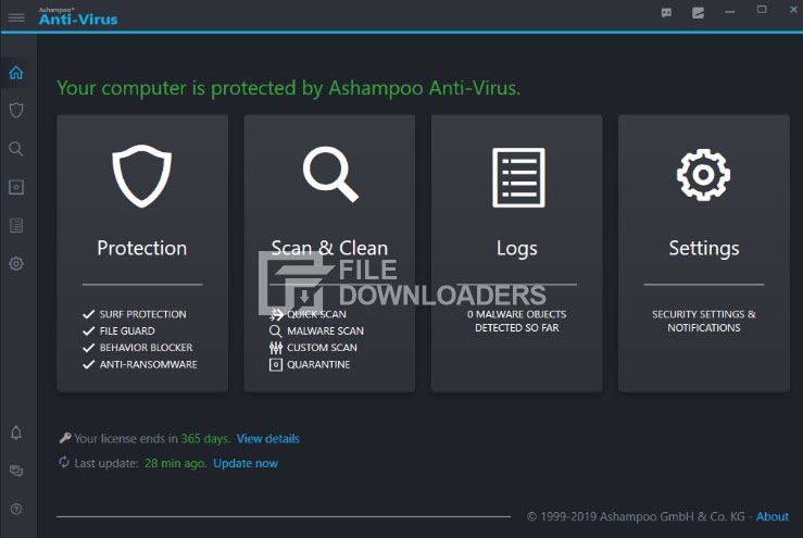 Ashampoo Antivirus for Windows