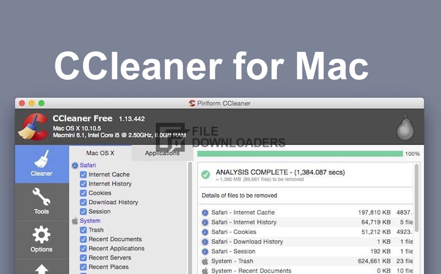 CCleaner 2020 For Mac OS