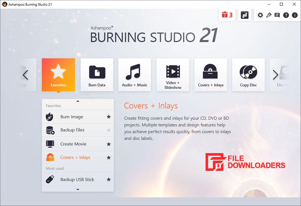 Download Ashampoo Burning Studio for Windows