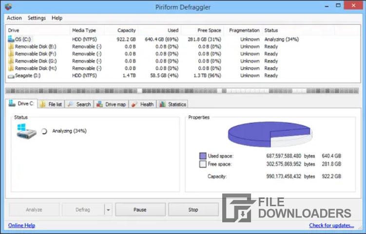 Download Defraggler For Windows 10, 8, 7
