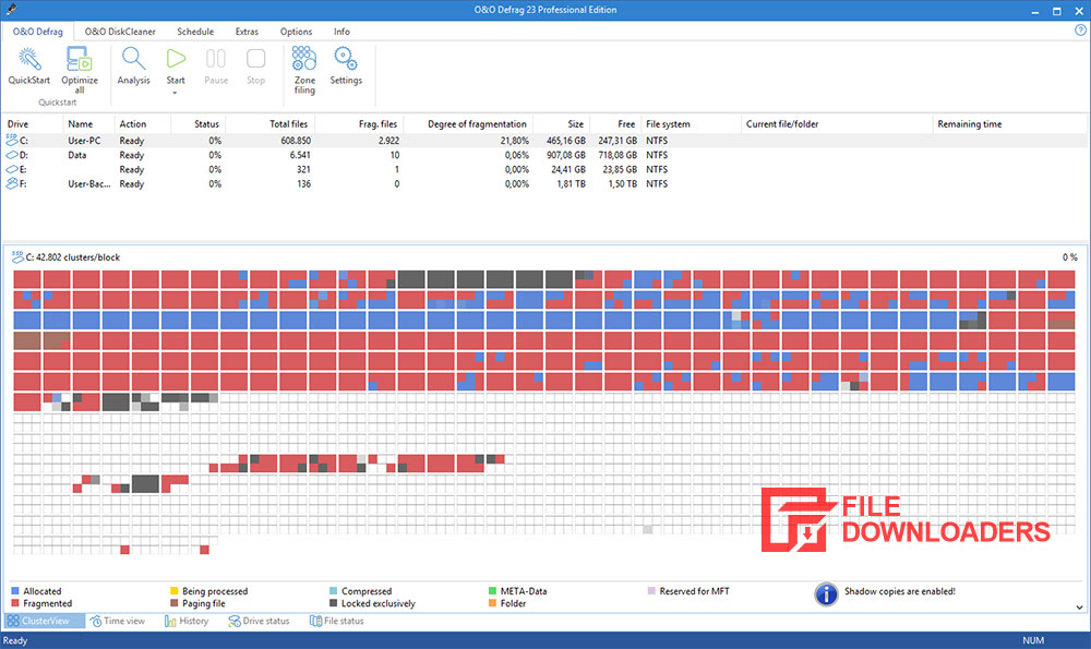 Defrag Free Edition for Windows