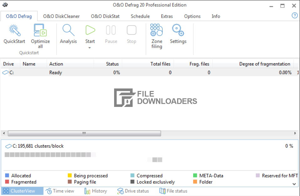 Download O&O Defrag Professional Edition