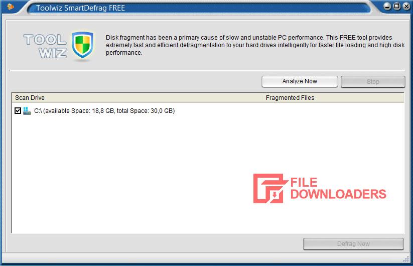 Toolwiz Smart Defrag for Windows