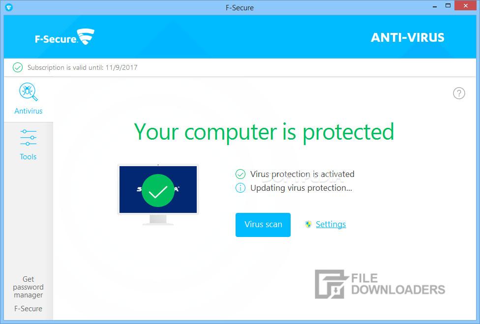 F-Secure Antivirus for Windows