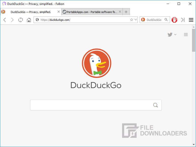 Falkon Browser for Windows