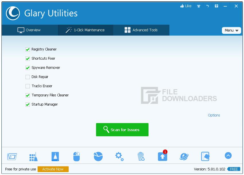 Glary Utilities for Windows