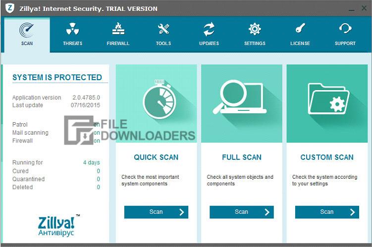 Zillya Antivirus for Windows