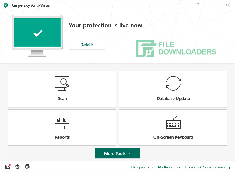Kaspersky Antivirus for Windows