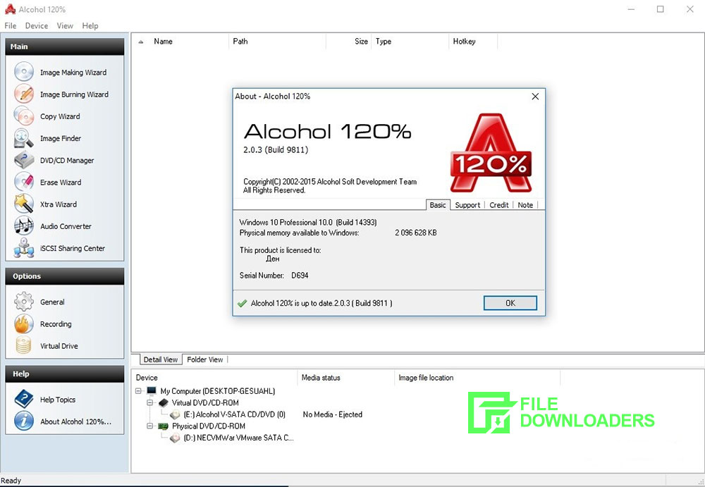 Alcohol 120% for Windows