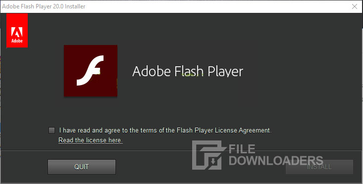 Adobe Flash Player for Windows