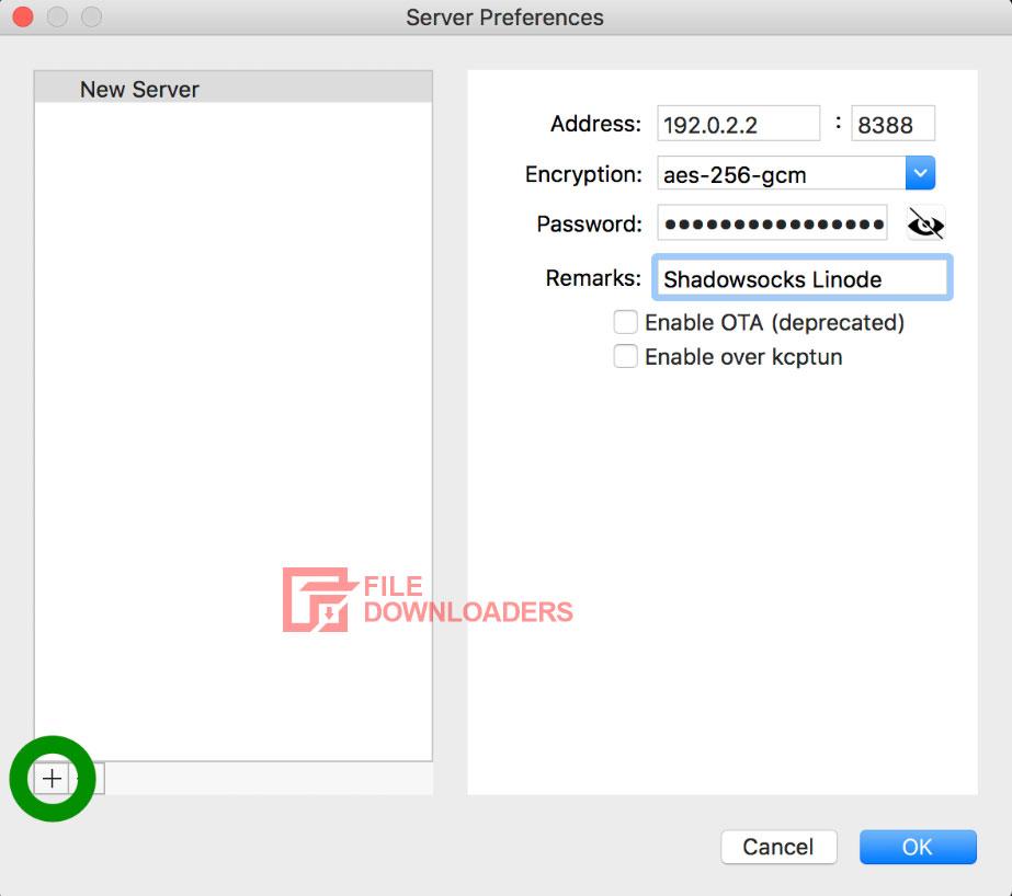 Shadowsocks for Mac OS