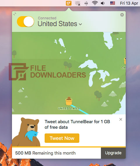 TunnelBear for Mac OS