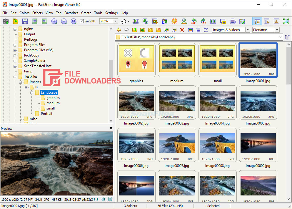 FastStone Image Viewer for Windows