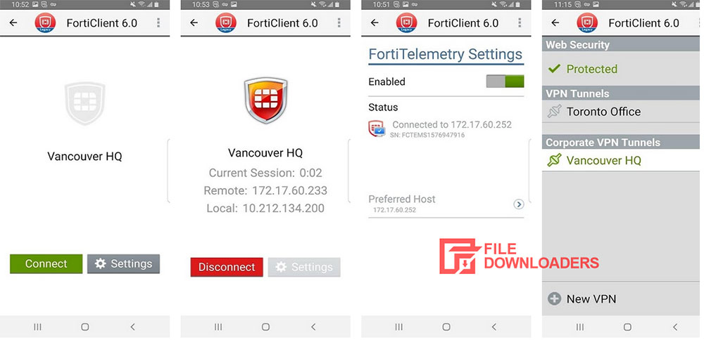 FortiClient for Android