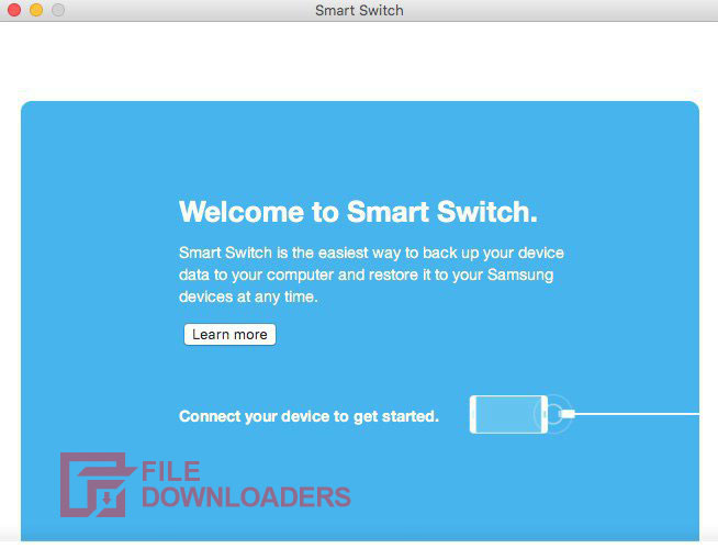 Samsung Smart Switch for Mac OS