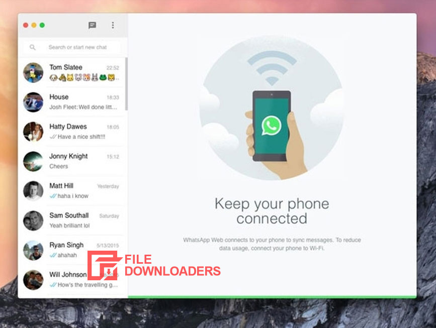 WhatsApp for Mac