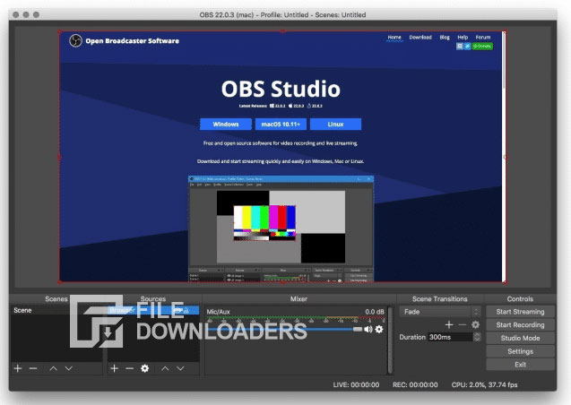 OBS Studio for Mac