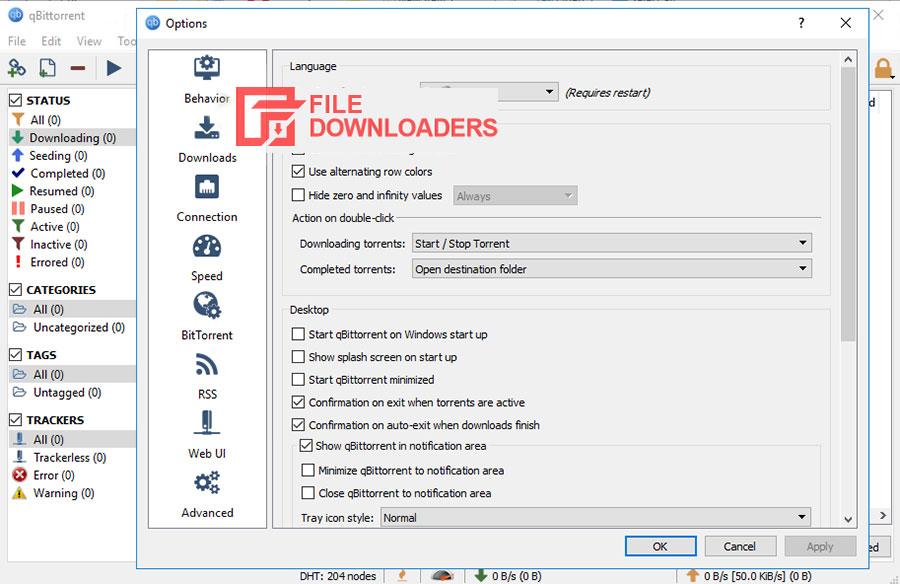 BitTorrent for Windows