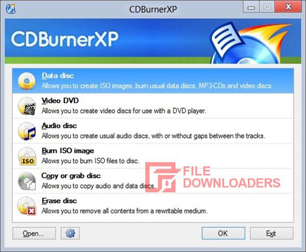 CDBurnerXP for Windows