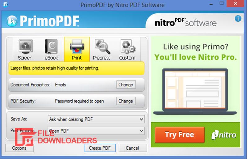 PrimoPDF for Windows