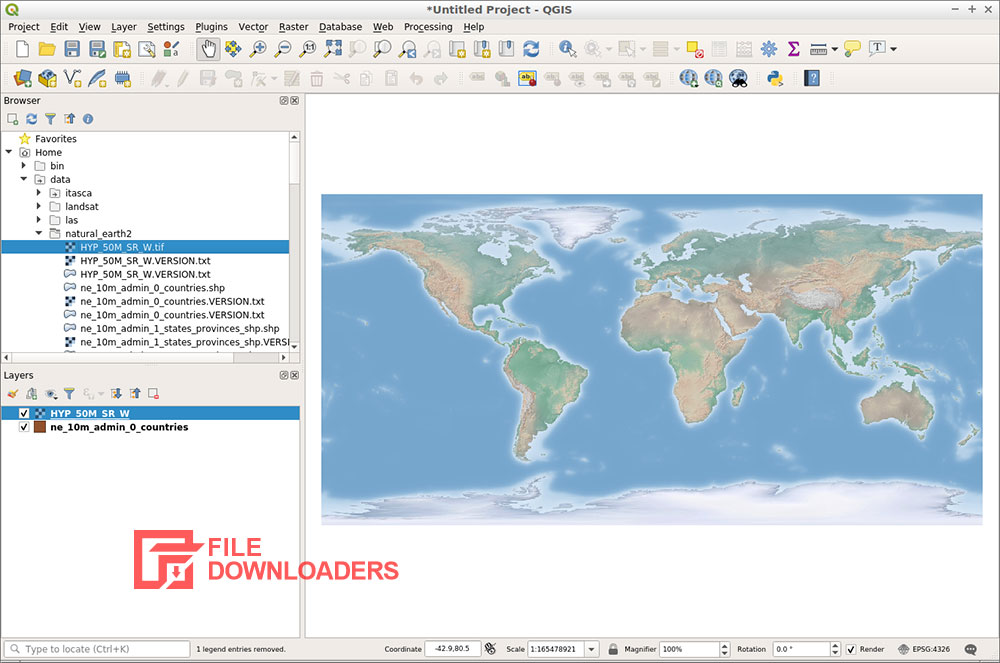 QGIS for Windows