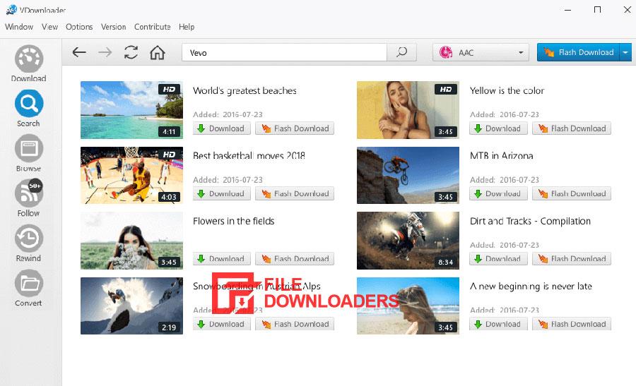 VDownloader for Windows