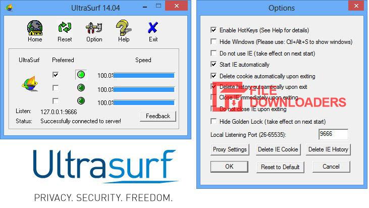 Ultrasurf for Windows
