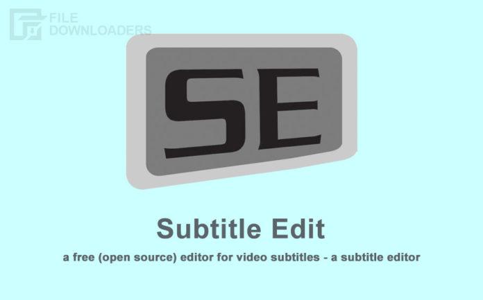 Subtitle Edit Latest Version