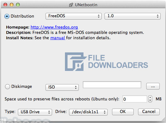UNetbootin for Mac OS
