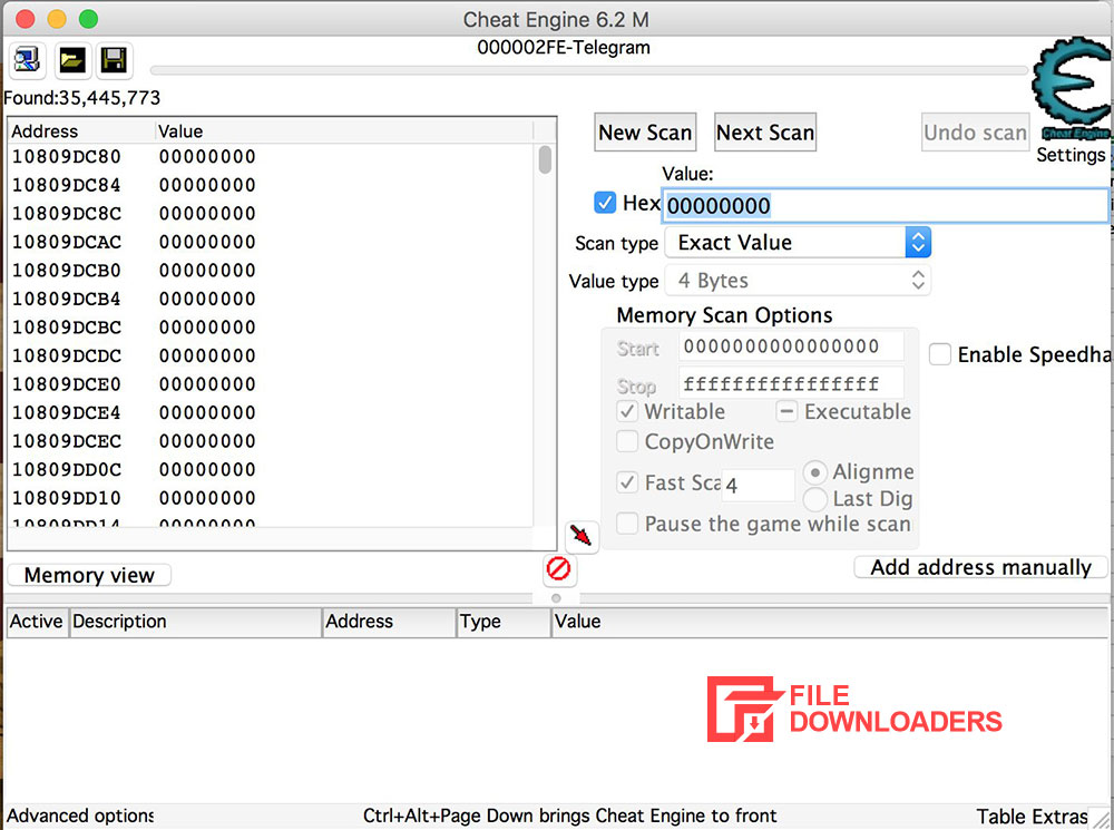 Cheat Engine for Mac OS