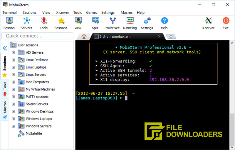 MobaXterm for Windows
