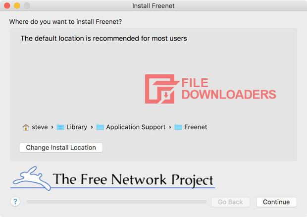Freenet for Mac OS
