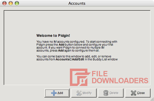 Pidgin for Mac OS