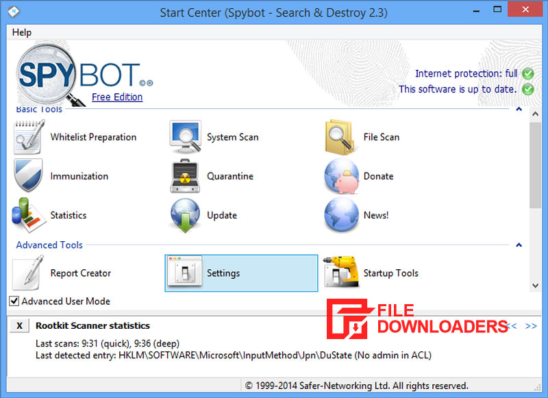 SpyBot Search & Destroy for Windows