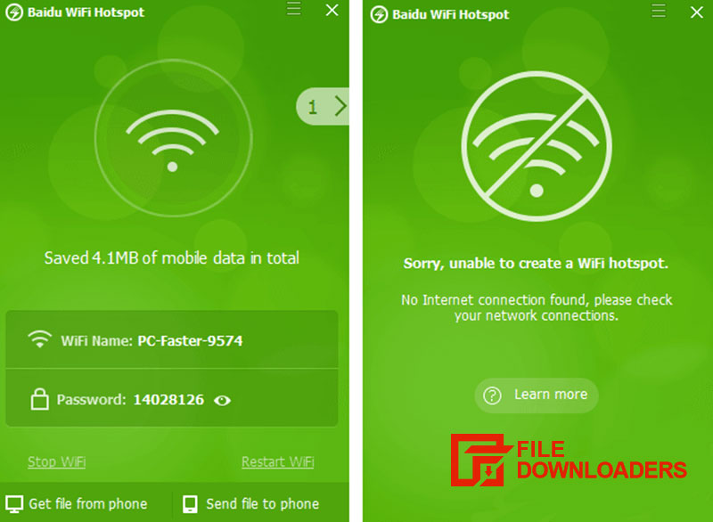 Baidu WiFi Hotspot for Windows