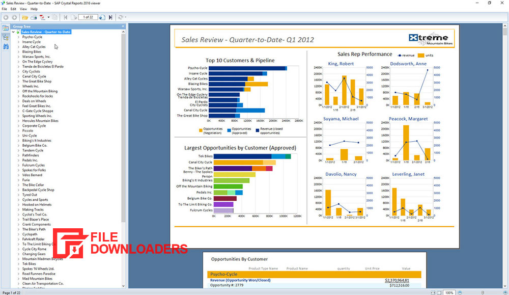 Crystal Reports for Windows