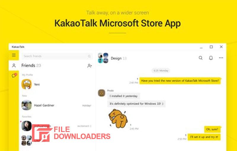 KakaoTalk for PC Windows