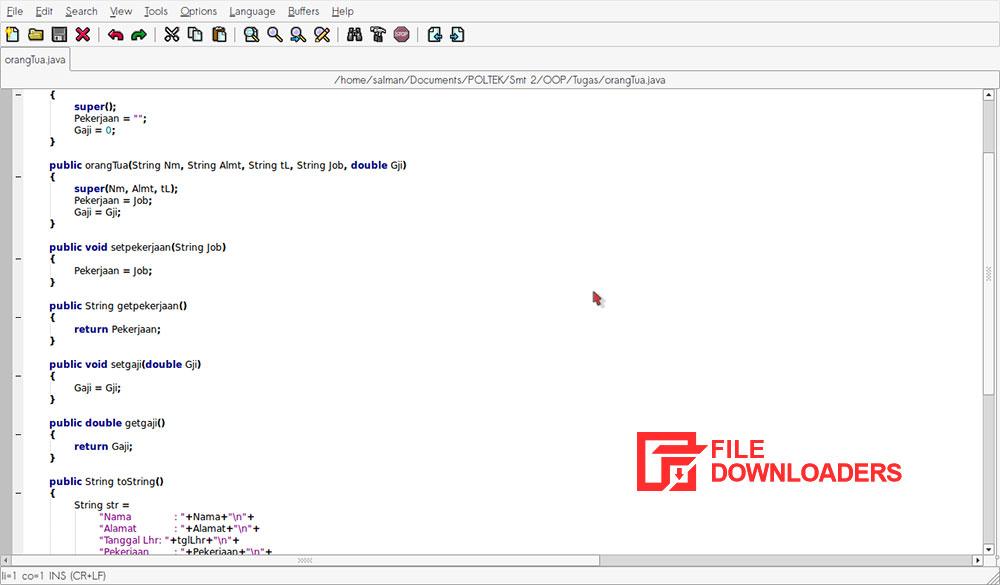 SciTE for Windows