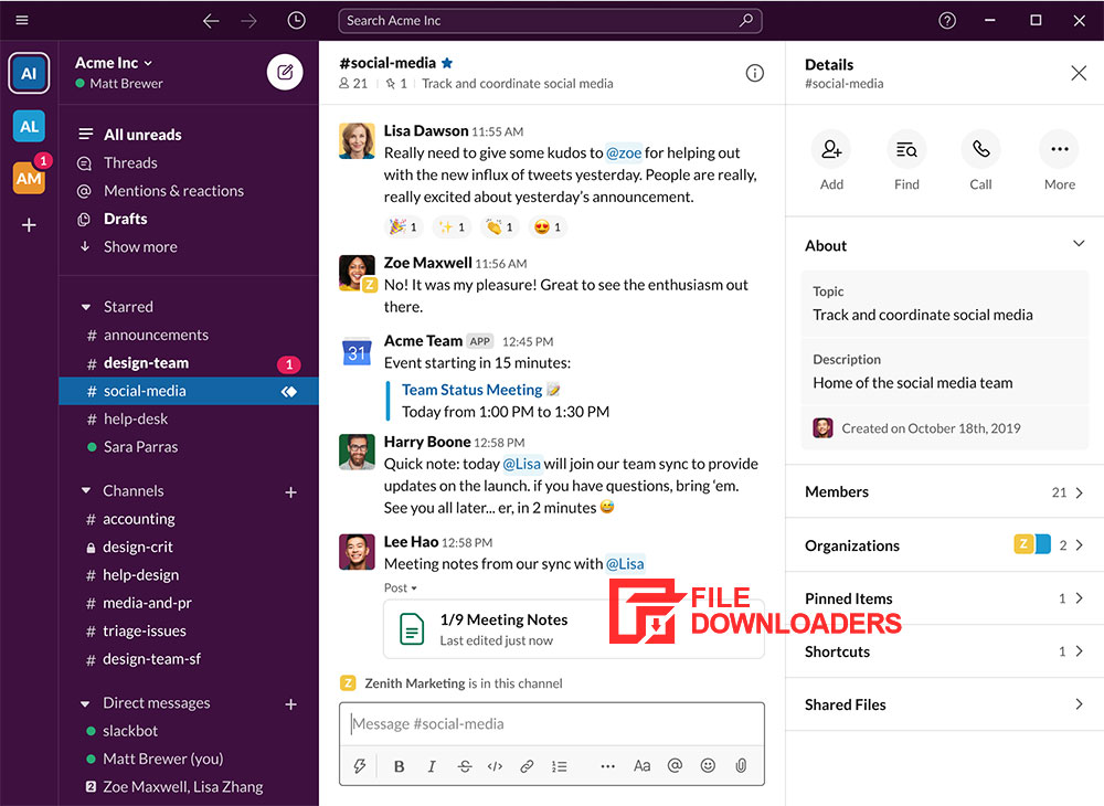 Slack for Windows PC