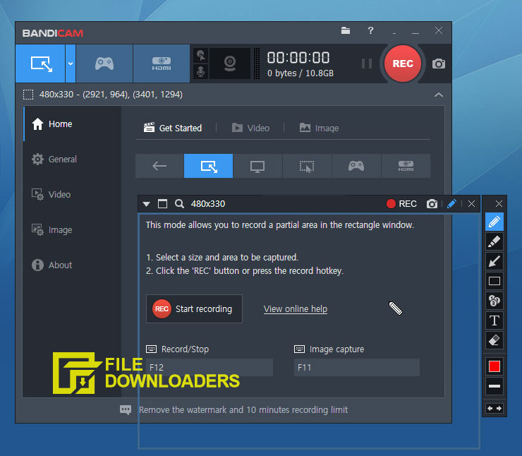 Bandicam Screen Recorder for Windows