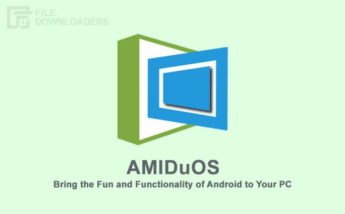AMIDuOS Latest Version
