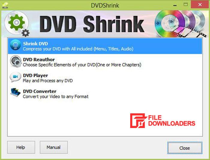 DVD Shrink for Windows