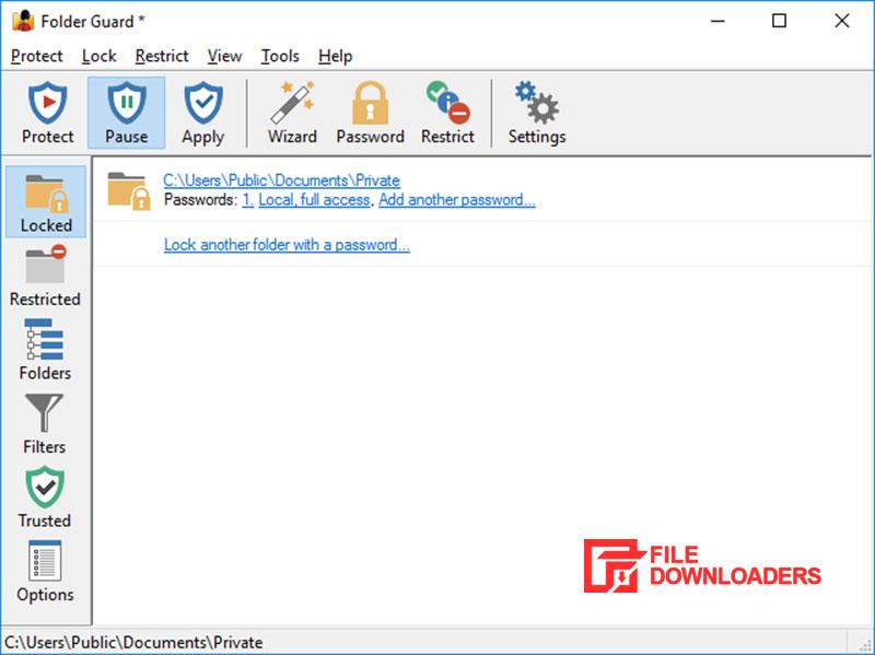 Folder Guard for Windows
