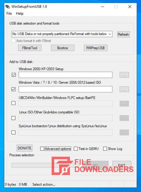 WinSetupFromUSB for Windows