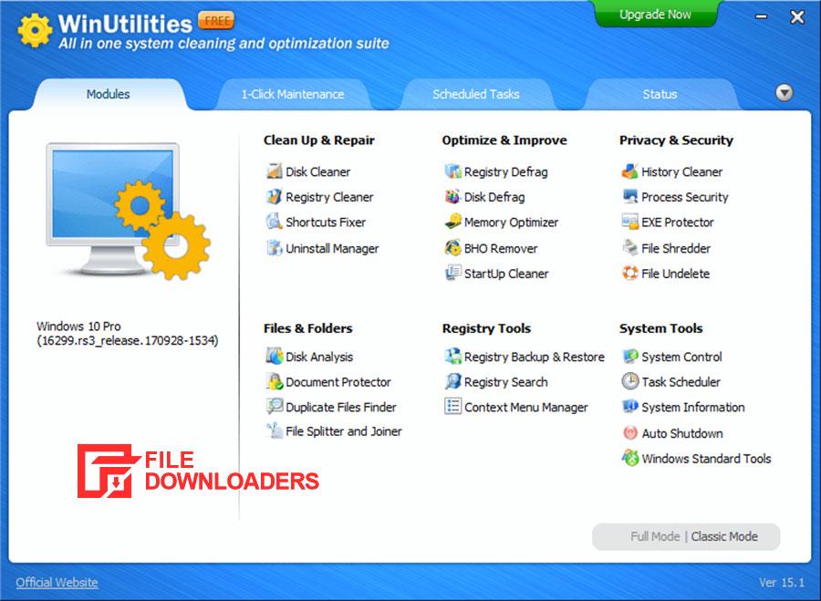 WinUtilities Registry Cleaner for Windows